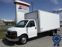 2015 GMC Savana 3500 16ft Cube Truck-AMVIC Inspected & CVIP Cert