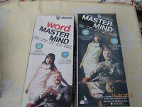 Vintage 2 1970's Matermind Games