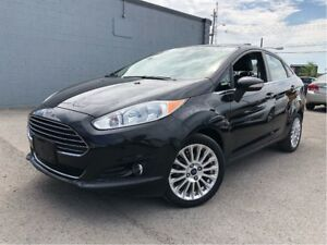 2014 Ford Fiesta Titanium NAVIGATION LEATHER MOONROOF