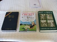 3 BOOKS ( CRICKET )
