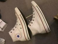 Unisex converse all star white