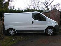 vauxhall vivaro 2700cdti 1.9 turbo diesel van ,s/h engine fitted done 105.000 miles ,2004,swb,