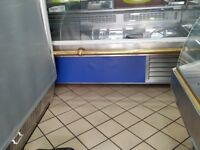 Refrigerated Glass Fronted Shop Counter