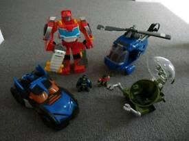 Batman transformer bundle rrp £80