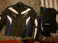 Pro first bike jacket and bottoms