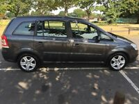 2009 Vauxhall Zafira 1.6 i 16v Exclusiv 5dr pco Licence 7 Seater Quick Sale