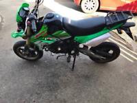 Bsr 125cc roadlegal pitbike