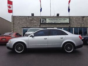 2002 Audi A4 3.0L AWD COMES FULLY MECHANICALLY SAFETY CERTIFIED