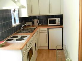 Self Contained Studio Flat with kitchen, en suite and bed sitting room.
