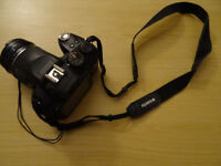 Fujifilm finepix hs10 (10MP, 30x Wide Optical Zoom) with a few complements.