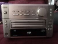Partly working Denon UD-M5 radio amp compact unit with instruction manual