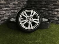 "17"" Genuine Mercedes A B Class Alloy Wheels W246 VW Audi"