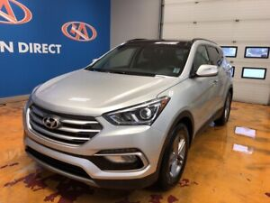 2018 Hyundai Santa Fe Sport 2.4 Premium AWD/ LEATHER/ PANO ROOF!