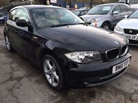 BMW 1 Series 2.0 116d Sport 3dr£6,495 p/x welcome FREE WARRANTY, NEW MOT