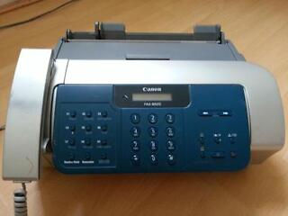 Canon fax-b820 plain paper fax machine