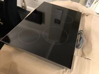 Electric induction Hob 4 ring wide 780mm