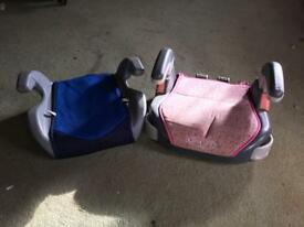 2 x booster seats. FREE!