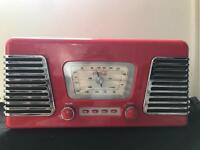 Retro Coca Cola Radio and Turntable with USB