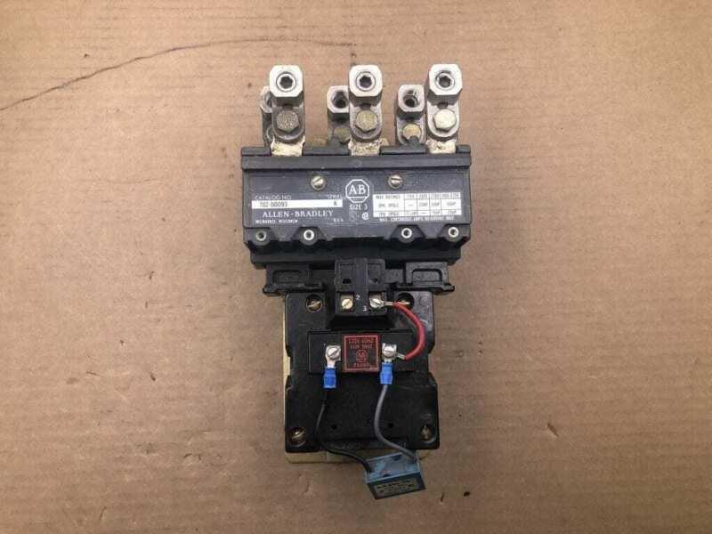 Allen-Bradley Size 3 702-D0D93 Series K AC Contactor 90A 600V