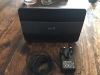 BT home hub 3 broadband router with mains adaptor (no cables)