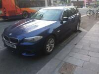 2011 60 Reg BMW 520D Automatic Blue Leather Seats Cheapest NEW SHAPE