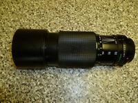 Canon FD 70-210 Lens