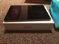 iPad Air 16GB space gray unlocked