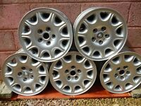 Jaguar XJ8 or Ford Mondeo Alloy Wheels