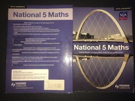 National 5 Maths Textbook (in excellent condition)