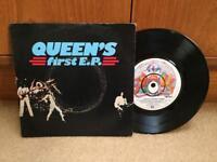 "Queen EP 7"" single - Queen's First EP"