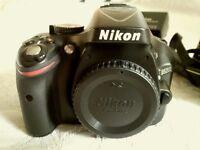 Must go ! Nikon D5200 , 24.1 MP DSLR Camera , as new