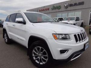 2014 Jeep Grand Cherokee Limited--Back-up Camera & Sensors--