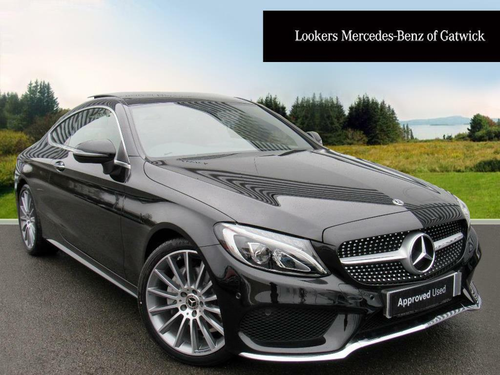 mercedes benz c class c 220 d amg line premium black 2017 12 11 in crawley west sussex. Black Bedroom Furniture Sets. Home Design Ideas