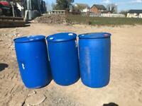 Plastic Barrels 200l