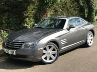 2003 CHRYSLER CROSSFIRE, 3.2 V6 ENGINE, COUPE, AUTOMATIC, FULL SERVICE HISTORY.