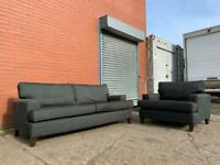 Beautiful Grey DFS Sofa Set delivery 🚚 sofa suite couch furniture