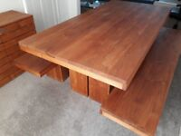 Modern kitchen dining table - Barker and Stonehouse - immaculate condition