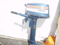 YAMAHA 4HP OUTBOARD MOTOR TWO STROKE