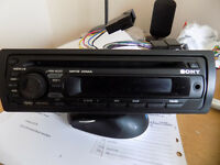 SONY CDX-GT24 MP3 WMA STEREO CD/RADIO - EXC' CONDITION!