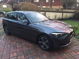 14 BMW 116d Sport auto. Low mileage. Fabulous car in as new condition.