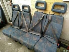 Double van seats