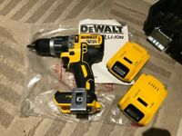 Dewalt DCD796D2 New, brushless Combi Drill with 2 x 2ah Li-ion batteries, charger and T-stak case
