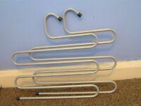 Two Ikea trouser hangers