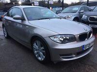 BMW 1 Series 2.0 120d SE 2dr£5,995 p/x welcome FREE WARRANTY, NEW MOT