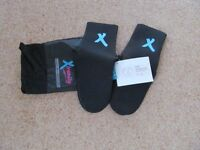 Brand new 3mm Xtremity neoprene socks size 4-5 and 5-7
