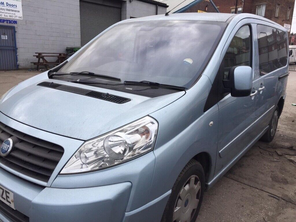 2007 57 Fiat scudo turbo diesel # spares or repair # immobiliser fault  #  wont start # tow away | in York, North Yorkshire | Gumtree