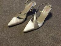 Rainbow wedding shoes size 6.5