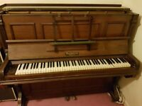 waldstein upright piano 1895 antique
