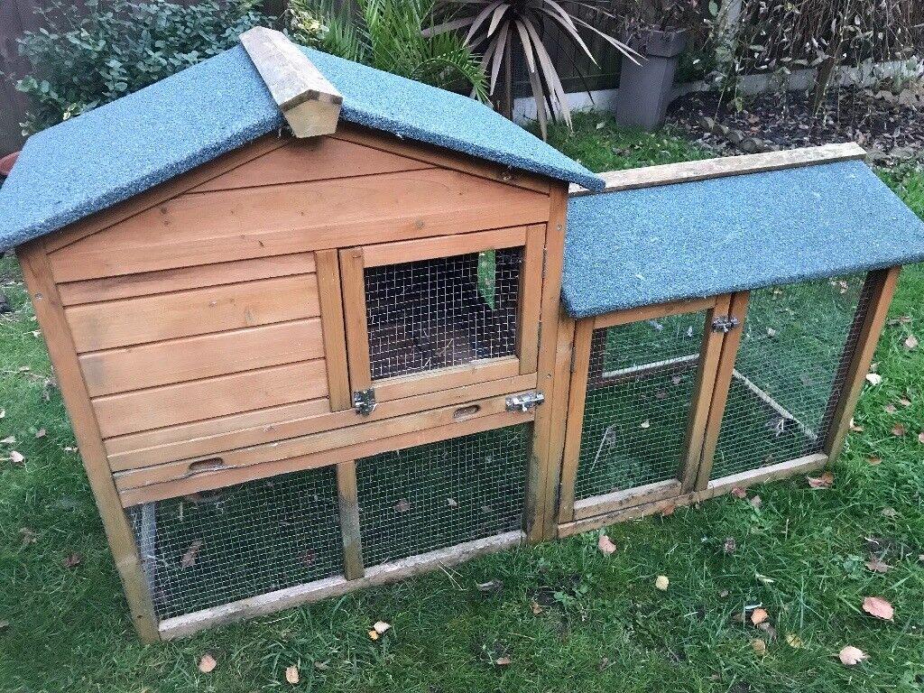 Rabbit/guinea pig house and run