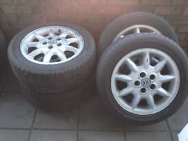 9 ARMS GULF ALLOY RIM (USED BUT IN GOOD CONDITION)